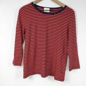Anthropologie t.la Striped Long Sleeve, Size small